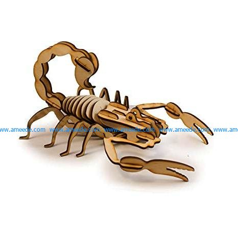 wooden scorpion assembly design