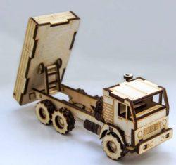 wooden truck tractors