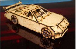 Nascar car model