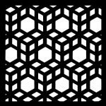 3d cubes file cdr and dxf free vector download for Laser cut CNC