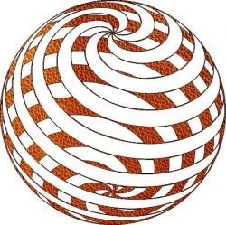 3d sphere image causing illusion file cdr and dxf free vector download for Laser cut plasma