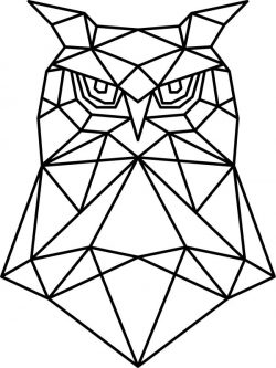 Artistic owl head file cdr and dxf free vector download for Laser cut plasma