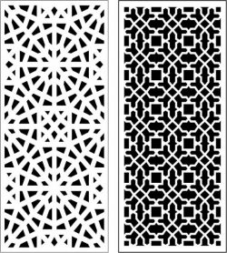 Beautiful living room baffle pattern file cdr and dxf free vector download for Laser cut CNC