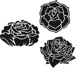 Beautifully carved flower pattern file cdr and dxf free vector download for laser engraving machines