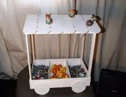 Candy Cart file cdr and dxf free vector download for Laser cut