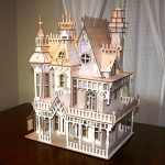 Castle assembly model file cdr and dxf free vector download for Laser cut CNC