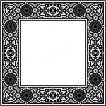 Classic square decorative motifs file cdr and dxf free vector download for Laser cut CNC