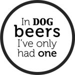 Coasters Beer file cdr and dxf free vector download for printers or laser engraving machines