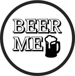 Coasters Beer Drinks file cdr and dxf free vector download for printers or laser engraving machines