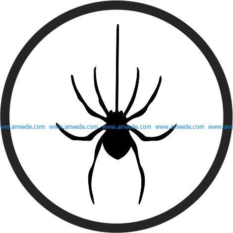 Coasters halloween spider