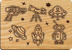Cut cosmic toys for children file cdr and dxf free vector download for Laser cut CNC