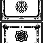 Decorative frame in arabic style  file cdr and dxf free vector download for Laser cut CNC