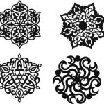 Decorative motifs circle file cdr and dxf free vector download for Laser cut Plasma
