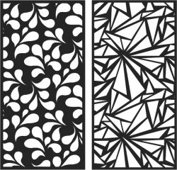 Designing a living room partition file cdr and dxf free vector download for Laser cut CNC