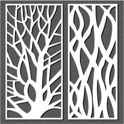 Designing a tree file cdr and dxf free vector download for Laser cut CNC