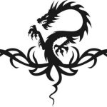 Dragon angry file cdr and dxf free vector download for print or laser engraving machines