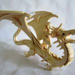 Dragon assembly model file cdr and dxf free vector download for Laser cut CNC
