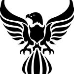 Eagle icon file cdr and dxf free vector download for printers or laser engraving machines