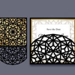 Elegant abstract file cdr and dxf free vector download for Laser