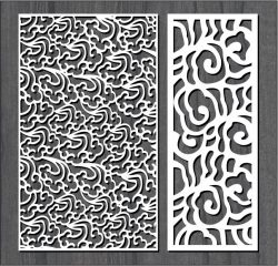 Fire smoke pattern design file cdr and dxf free vector download for Laser cut CNC