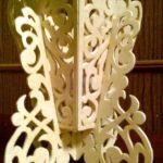 Flower Vase Light file cdr and dxf free vector download for Laser cut CNC