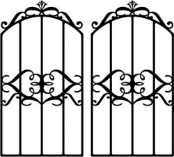 Form iron door shaped crown file cdr and dxf free vector download for Laser cut plasma