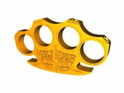 Holy brass knuckles file stl and mtl obj vector free 3d model download for CNC or 3d print