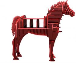 Horse shelves file cdr and dxf free vector download for Laser cut CNC