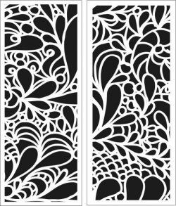 Impressive leaf bulkhead file cdr and dxf free vector download for Laser cut CNC