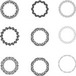 Laurel wreath pattern file cdr and dxf free vector download for print or laser engraving machines
