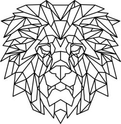 Lion head pieces file cdr and dxf free vector download for Laser cut plasma