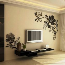 Living room floral pattern file cdr and dxf free vector download for Laser cut CNC