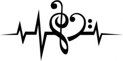 Love music icons file cdr and dxf free vector download for printers or laser engraving machines