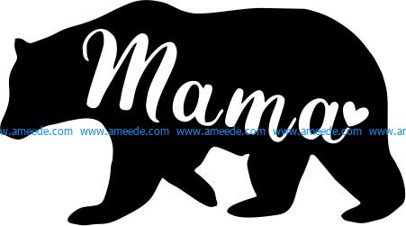 Mama beer file cdr and dxf free vector download for printers or laser engraving machines
