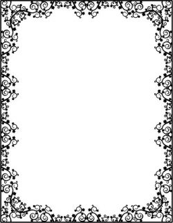 Maple leaf mirror frame file cdr and dxf free vector download for CNC cut