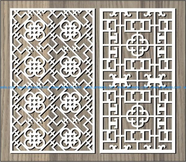 Money flower shaped partition free vector download for Laser cut CNC