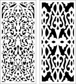Nice and unique partition dr and dxf free vector download for Laser cut CNC