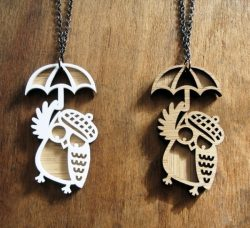 Owl pendant file cdr and dxf free vector download for Laser cut CNC