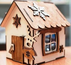 Piggy house file cdr and dxf free vector download for Laser cut
