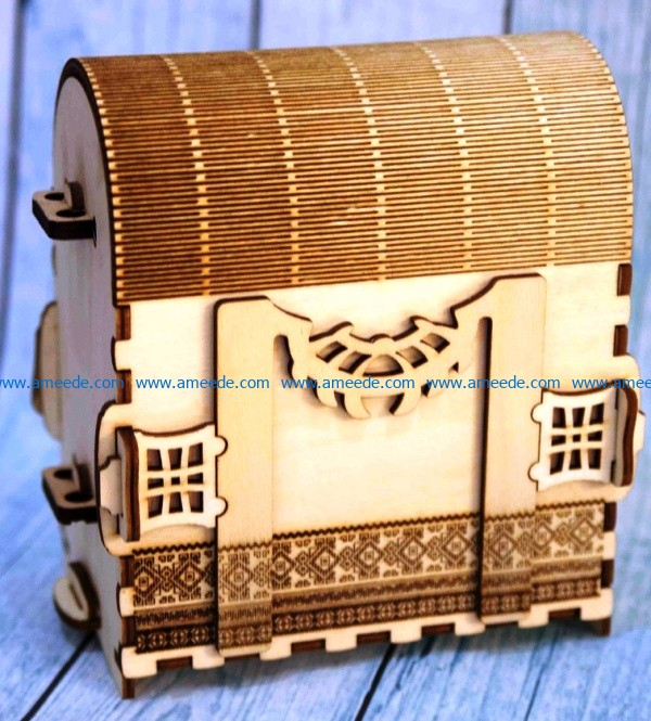 Plywood travel bag file cdr and dxf free vector download for Laser cut CNC