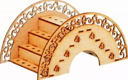 Porta pirulito file cdr and dxf free vector download for Laser cut CNC