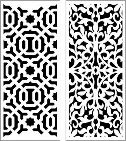 Sample baffle between living room and dining room  file cdr and dxf free vector download for Laser cut CNC