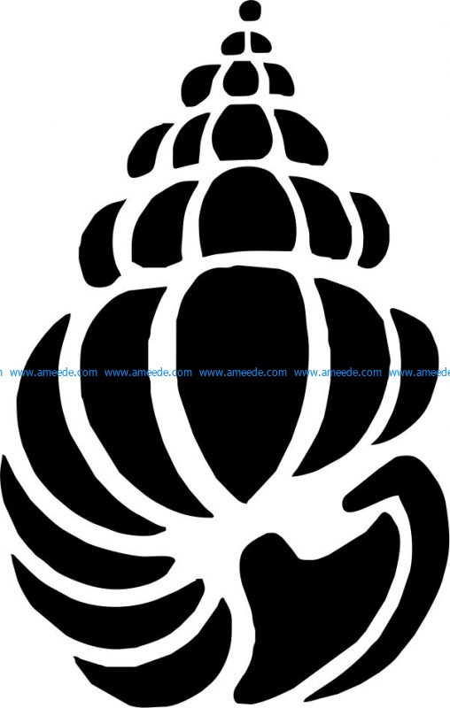 Snail shape file cdr and dxf free vector download for print or laser engraving machines