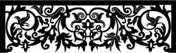 The most beautiful curtain frame in the fair file cdr and dxf free vector download for Laser cut CNC
