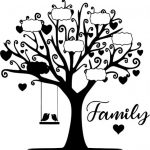 The tree shows the names of family members free vector download for Laser cut plasma