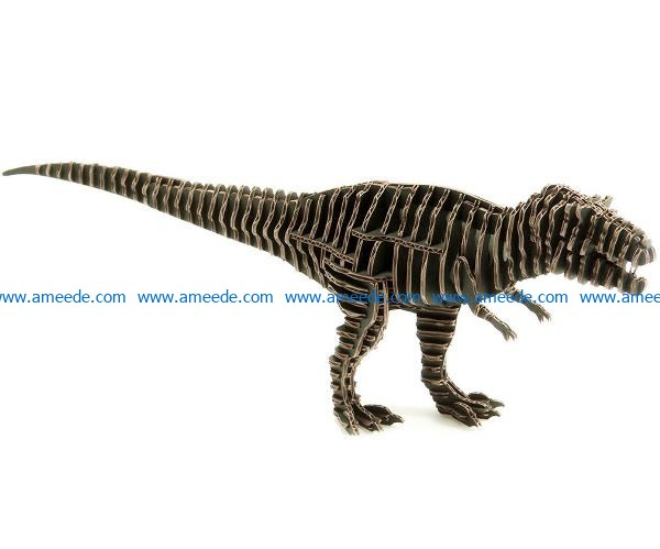 Tyrant dinosaur file cdr and dxf free vector download for Laser cut