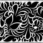 Unique decorative leaves file cdr and dxf free vector download for printers or laser engraving machines