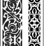 Chinese style texture file cdr and dxf free vector download for CNC cut