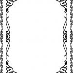 Vines mirror frame file cdr and dxf free vector download for CNC cut