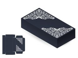 Wedding Card Box file cdr and dxf free vector download for Laser